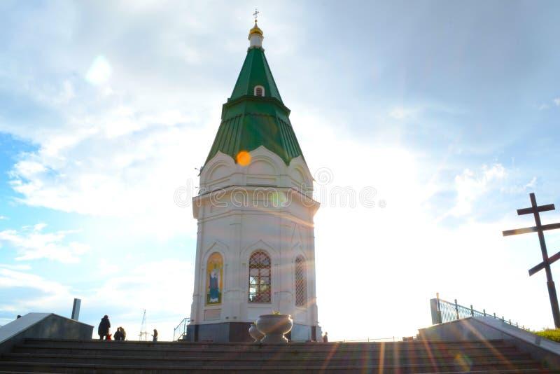 Krasnoyarsk kaplica obrazy royalty free