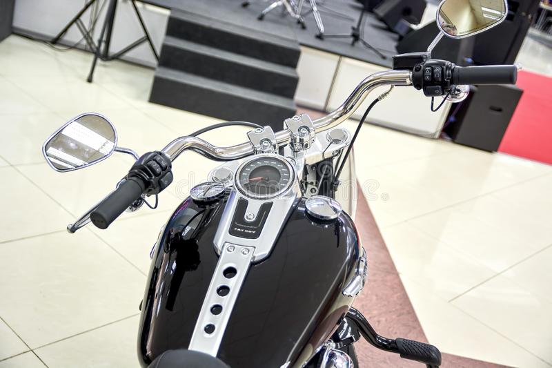 Harley Davidson 107 Management stock photos