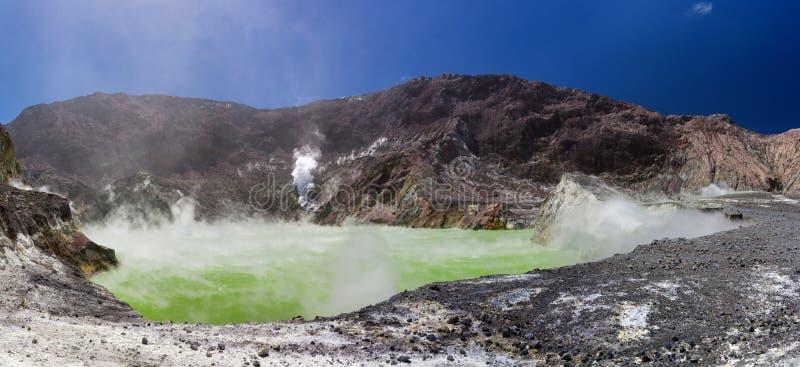 Krater Lakepanorama royaltyfri bild