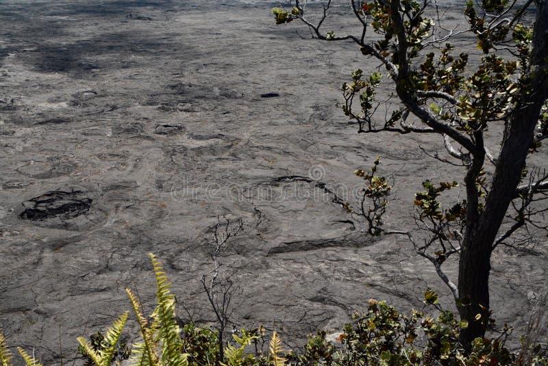 Krater podłoga obraz royalty free