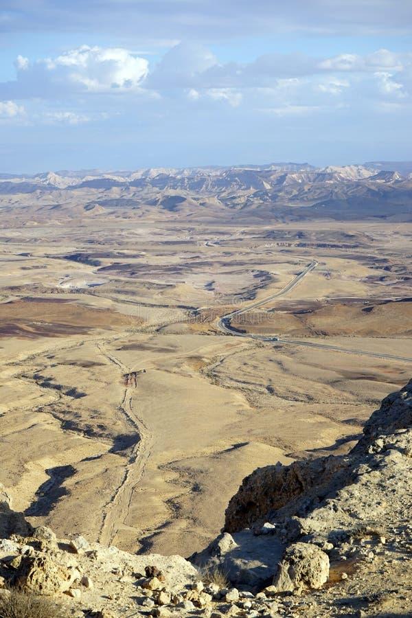 Krater Ramon zdjęcie stock