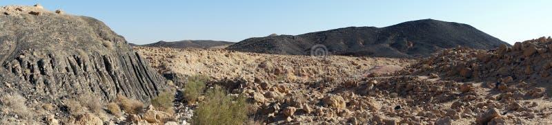 Krater Ramon zdjęcia stock