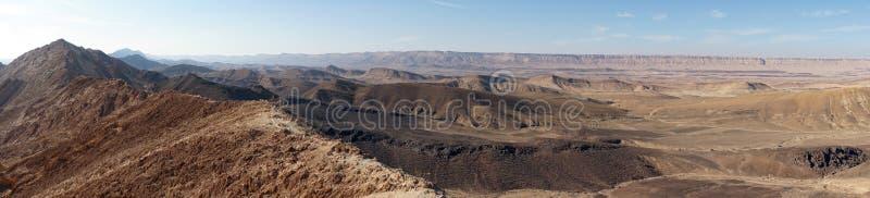 Krater Ramon obrazy stock