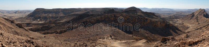 Krater Ramon obrazy royalty free