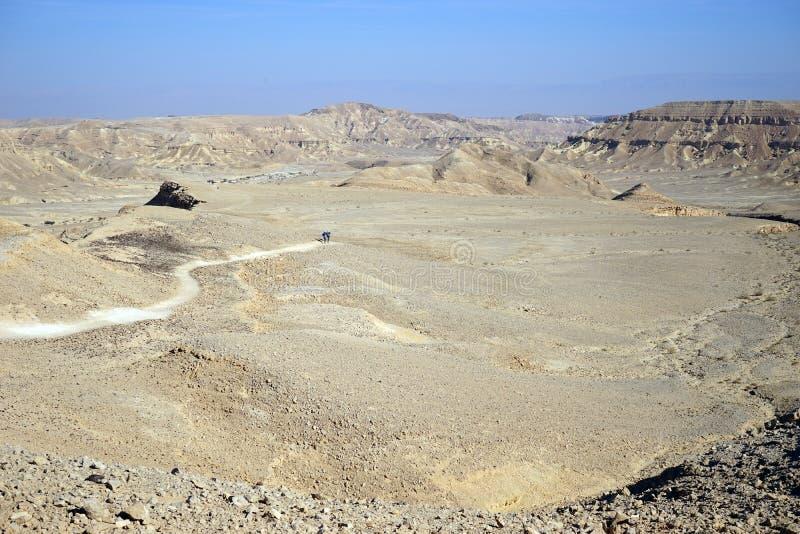 Krater Ramon fotografia stock
