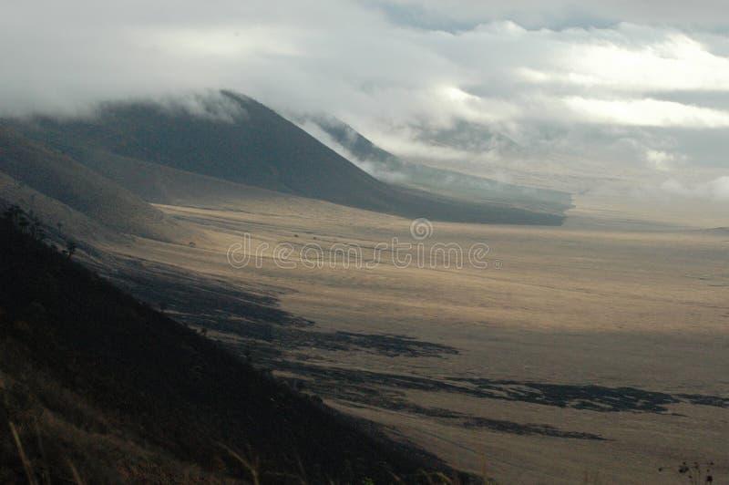 kraterngorongoro royaltyfri foto