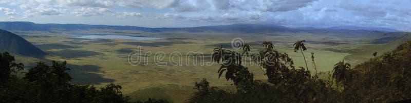 kraterngorongoro fotografering för bildbyråer