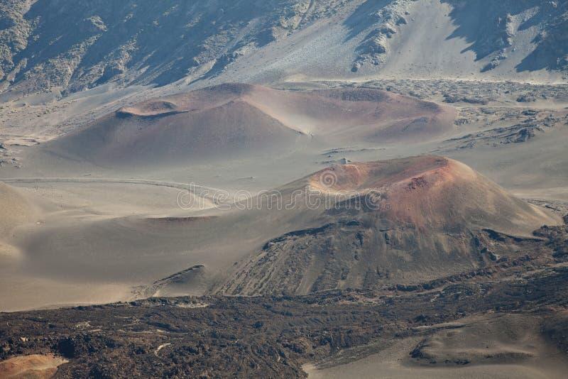 Kraters royalty-vrije stock fotografie
