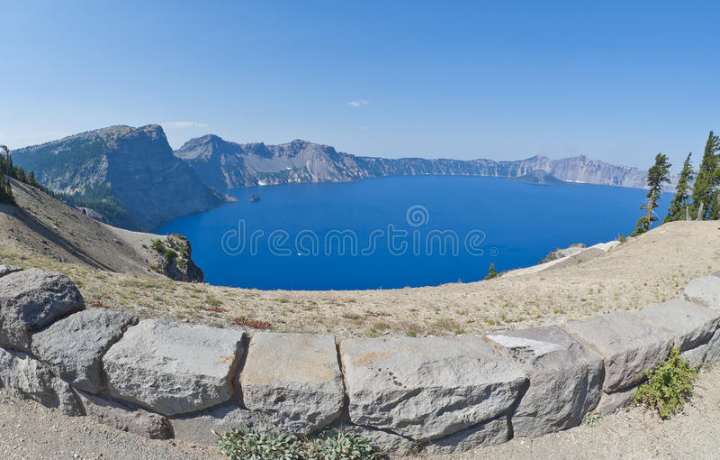 krateru jezioro Oregon obrazy royalty free
