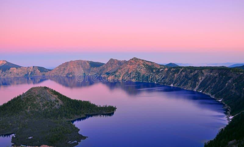 Krateru Jezioro, Oregon zdjęcia royalty free