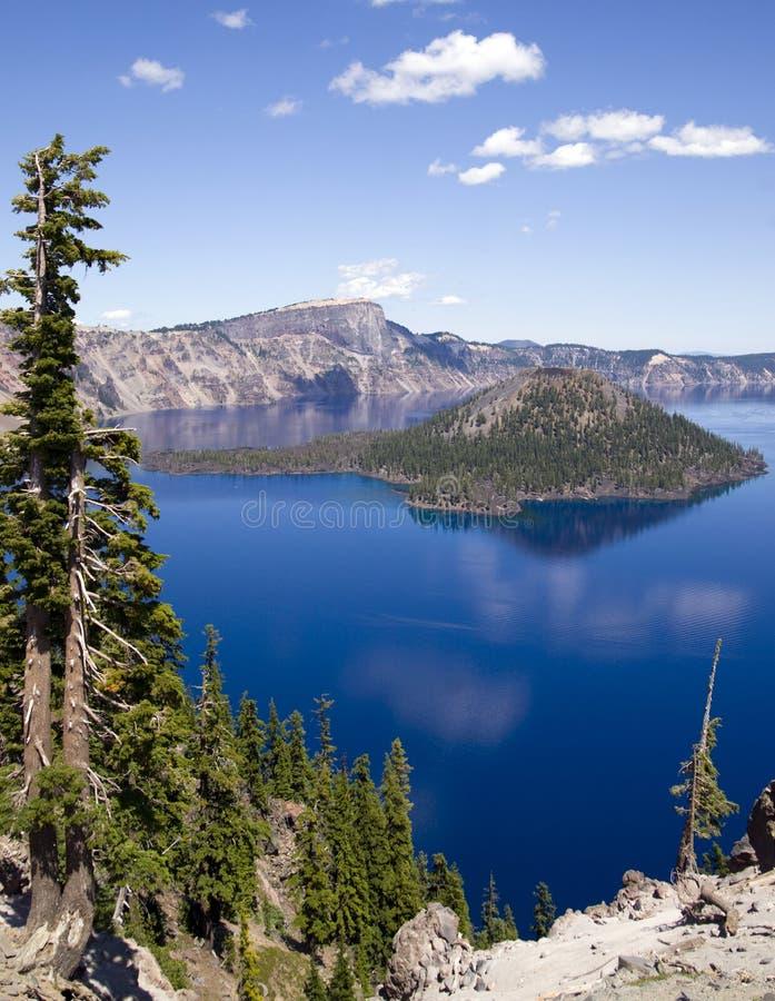 Krateru Jezioro Oregon fotografia royalty free
