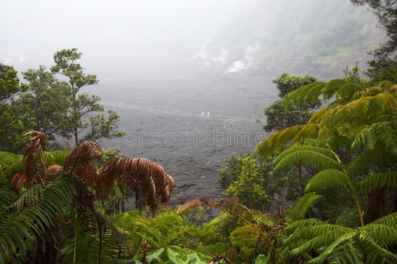 Kraterunterseite stockbild