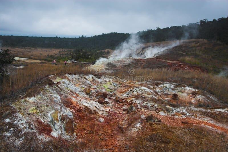 Kraterunterseite stockfoto