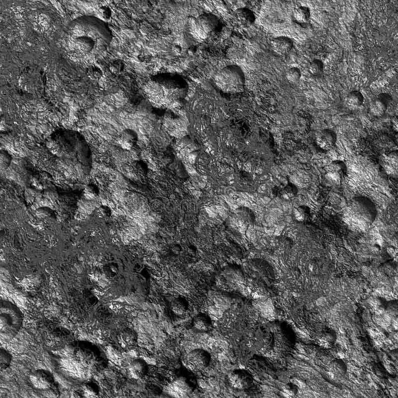kratery księżycowi ilustracji
