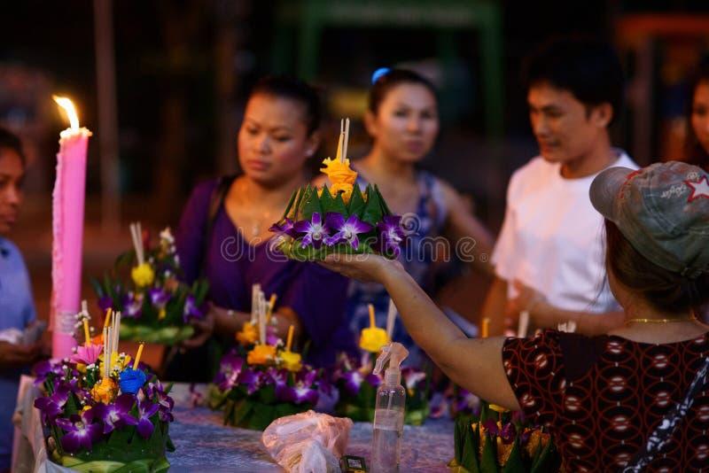 krathong празднества loy стоковое фото rf