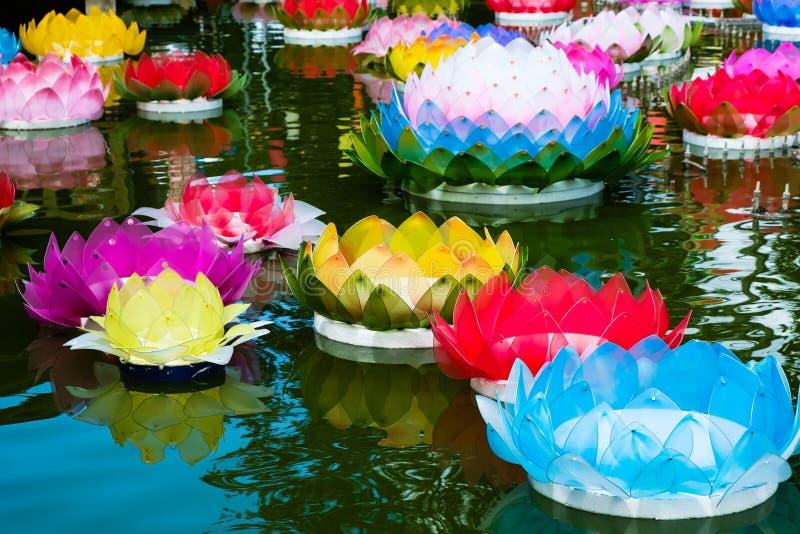 Krathong στοκ φωτογραφίες με δικαίωμα ελεύθερης χρήσης