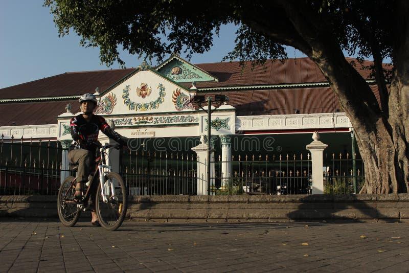 Kraton Kasultanan Yogyakarta стоковое изображение rf