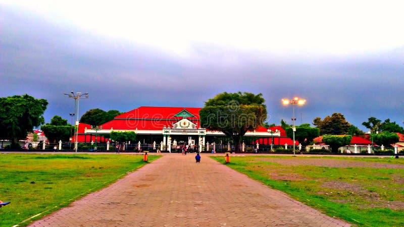 Kraton Yogyakarta arkivbilder