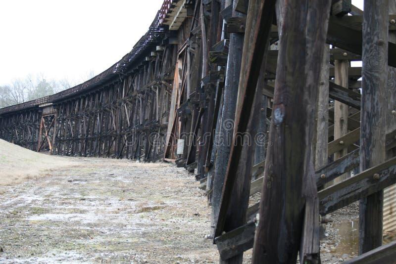 Kratownicowy most w Alabama 2019 obrazy royalty free