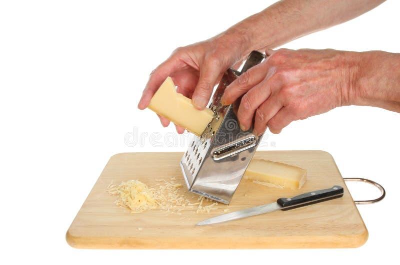 Kratzender Käse stockbild