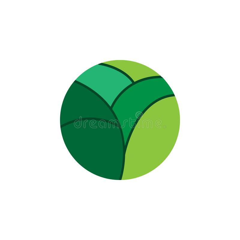 Kraut, Ginkgoikone Element der Krautikone für mobile Konzept und Netz Apps Ausführliches Kraut, Ginkgoikone kann für Netz und Mob vektor abbildung