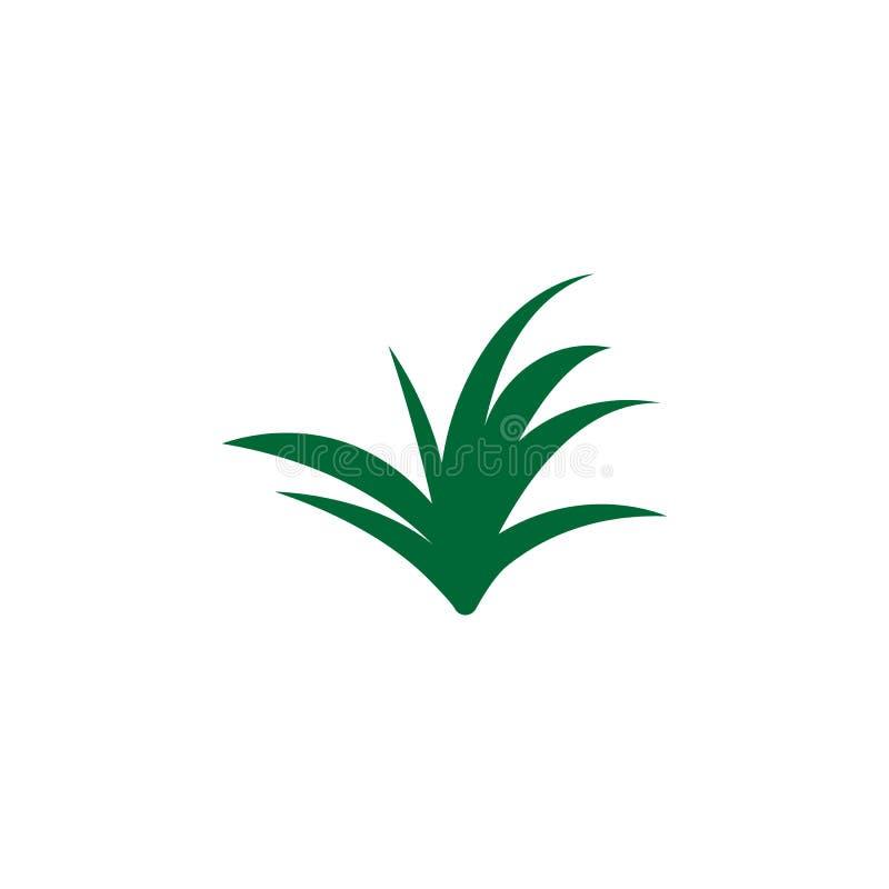 Kraut, Lemongrasikone Element der Krautikone für mobile Konzept und Netz Apps Ausführliches Kraut, Lemongrasikone kann für Netz b lizenzfreie abbildung