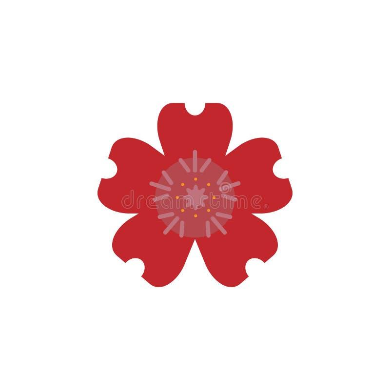 Kraut, Pelargonienikone Element der Krautikone für mobile Konzept und Netz Apps Ausführliches Kraut, Pelargonienikone kann für Ne vektor abbildung