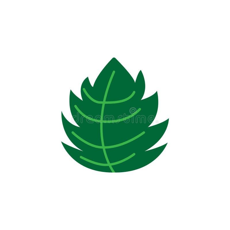 Kraut, tadellose Ikone Element der Krautikone für mobile Konzept und Netz Apps Ausführliches Kraut, tadellose Ikone kann für Netz lizenzfreie abbildung