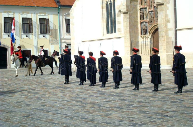 Download Kravat Regiment Guard Change Editorial Photography - Image: 27208897