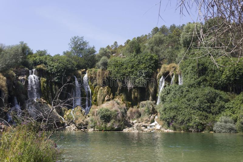 Kravice siklawy w Bośnia, Herzegovina - obrazy stock