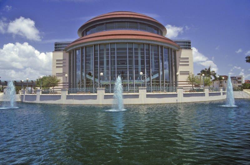Kravis-Mitte für die Performing Arten in West Palm Beach, Florida stockbilder