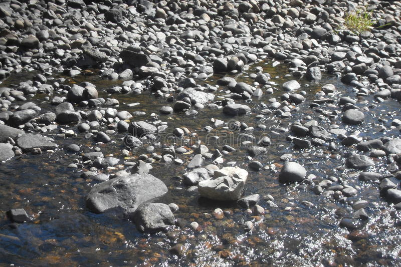 Krawędź rzeka zdjęcia royalty free
