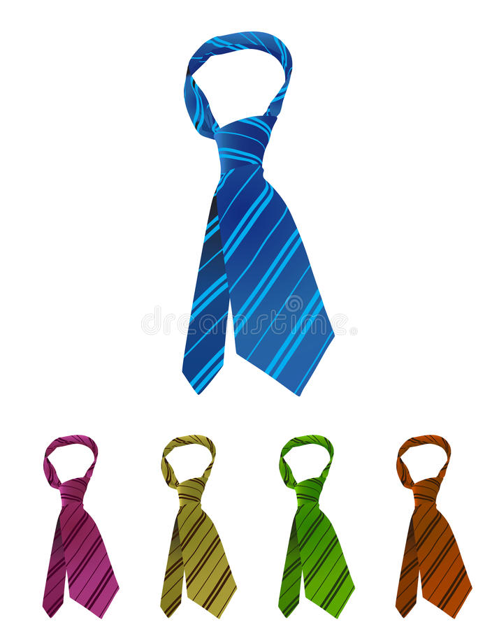 krawat royalty ilustracja