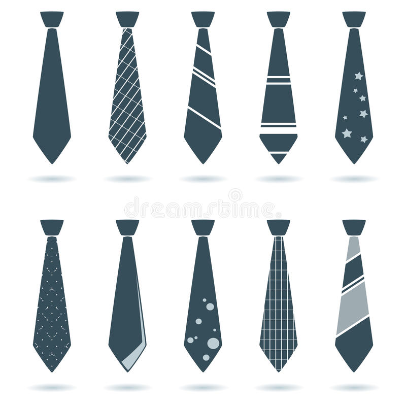 krawat ilustracji