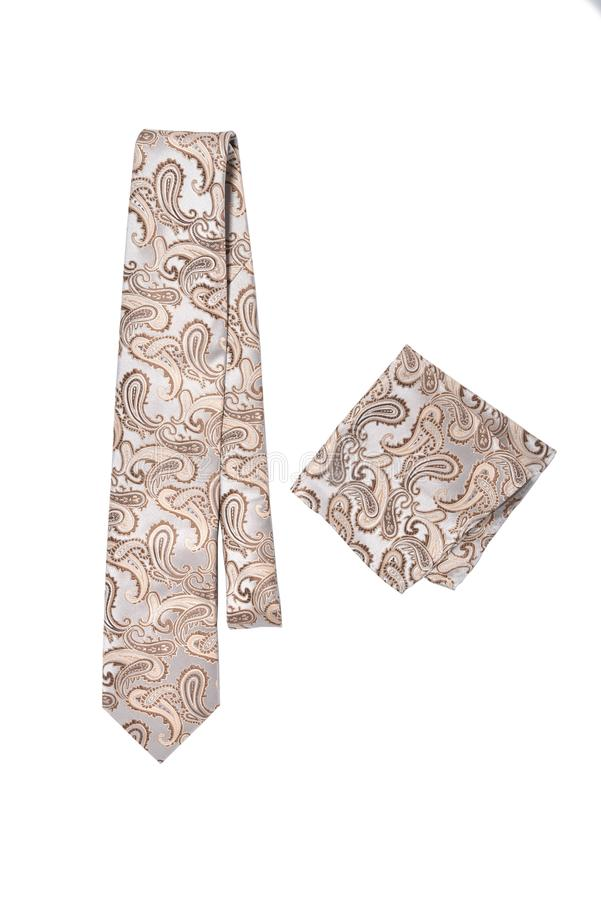 Krawat i hanky obraz stock
