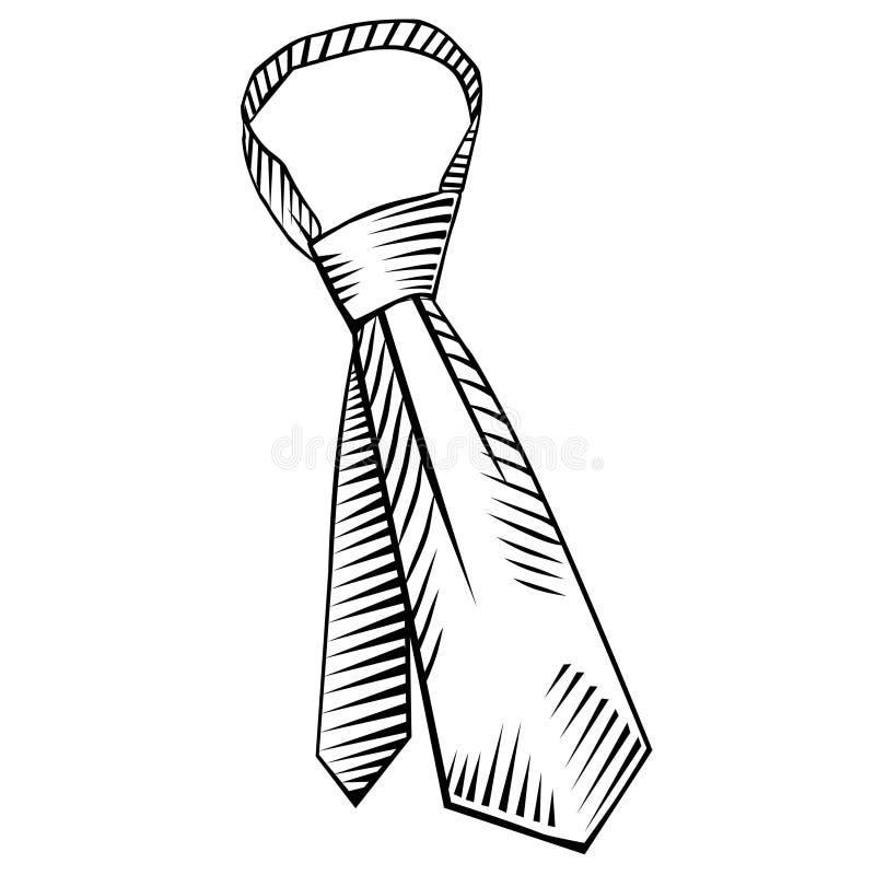 Krawat (wektor) fotografia royalty free