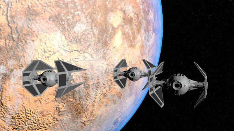 KRAWATA Interceptor zdjęcie royalty free
