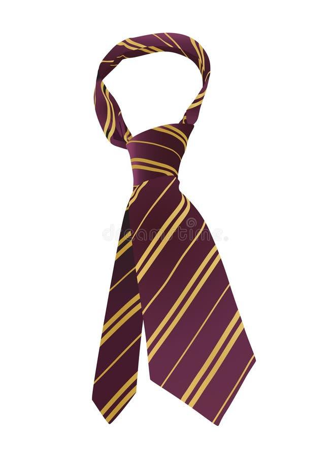 krawata wektora ilustracji