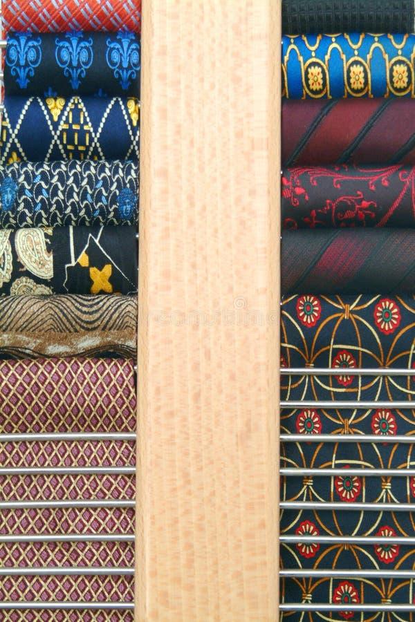 krawaty fotografia stock