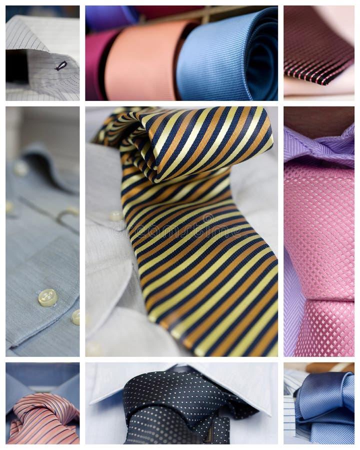 Krawaty i koszula zdjęcie royalty free