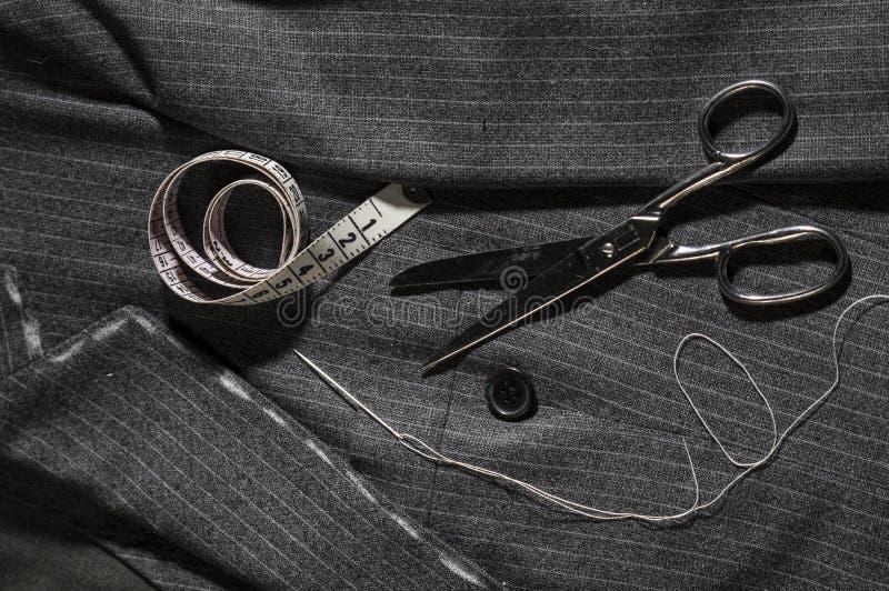 Krawiectwo, moda fotografia stock