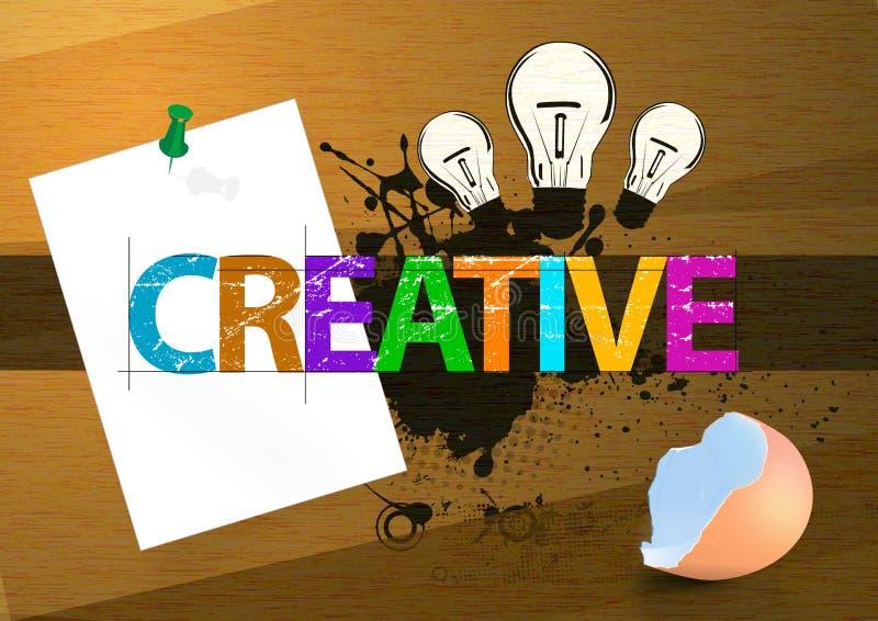Kreativ stock abbildung