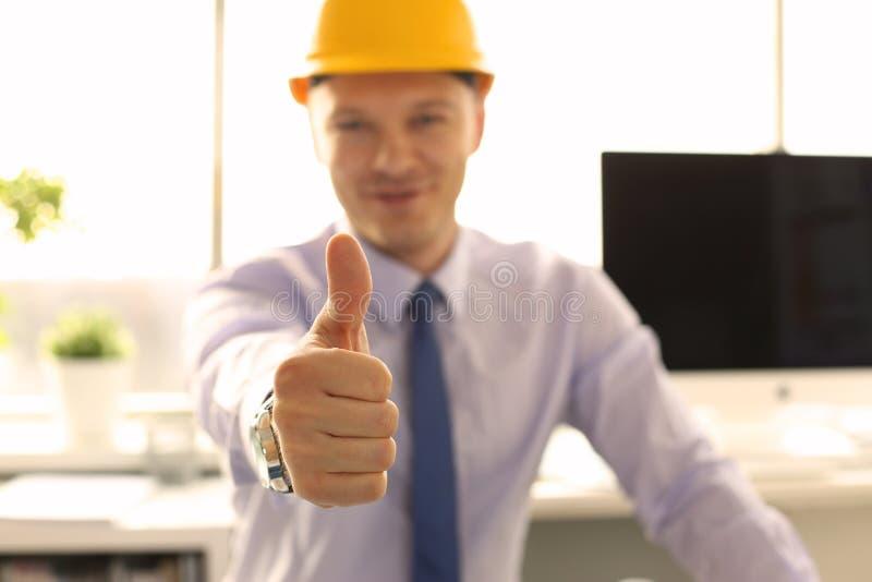 Kreative Achitect-Funktion im Ingenieurbüro lizenzfreie stockbilder