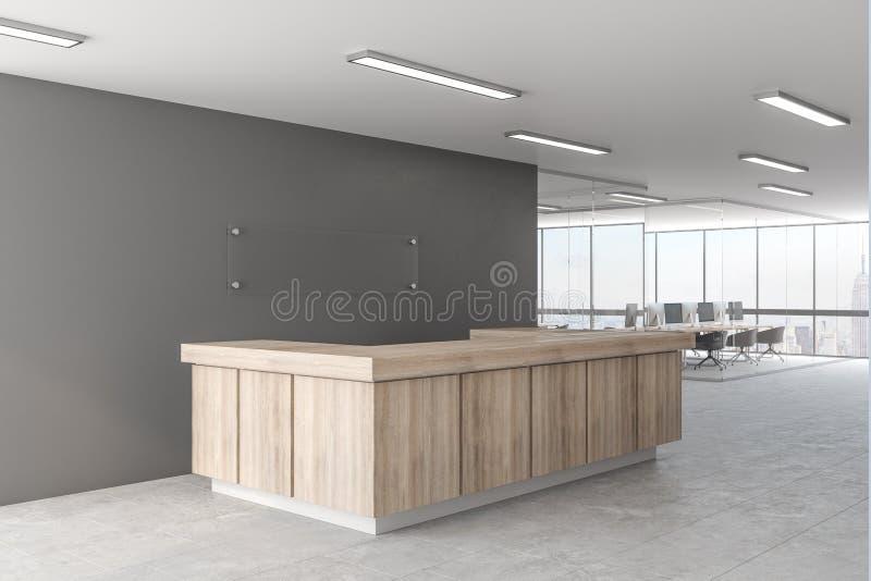 Kreative Bürolobby vektor abbildung