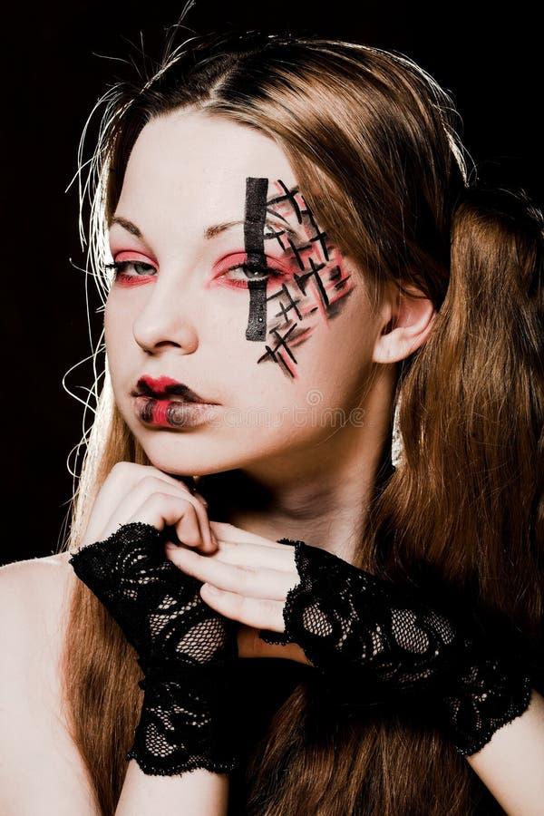 Kreative gotische Verfassung lizenzfreies stockfoto