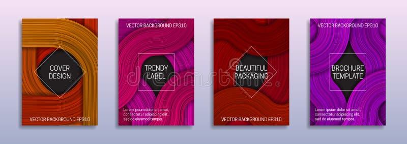 Kreative Hintergründe für Abdeckungsentwurf von farbigen Schichten Modische Aufkleber f?r sch?ne Verpackung Abstrakte Broschüre,  stock abbildung
