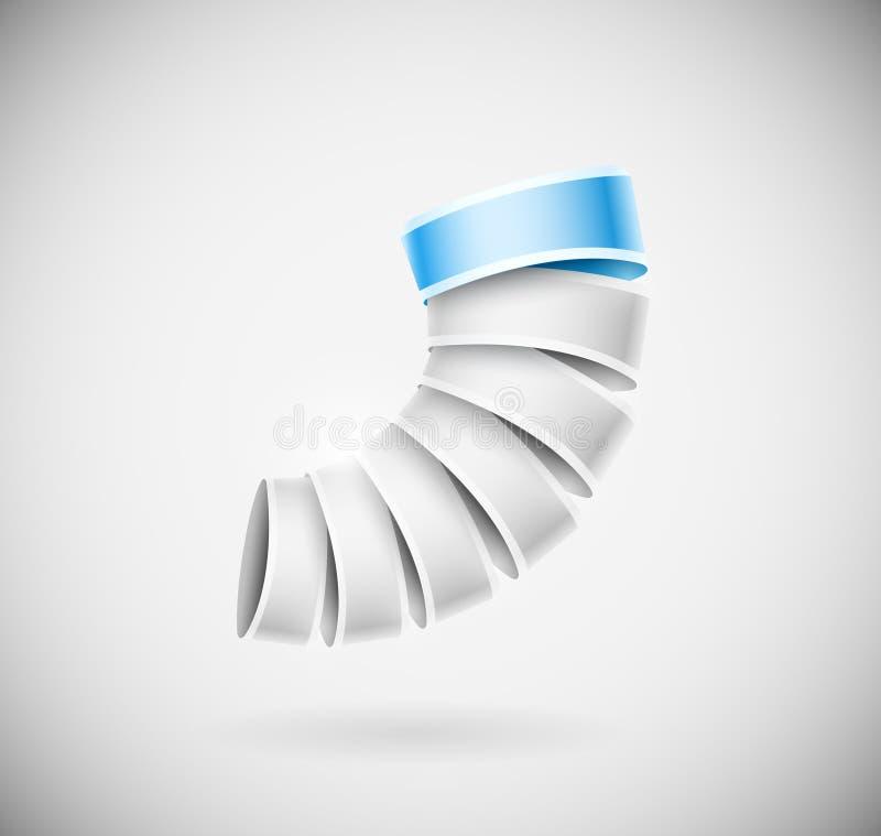 Kreative Ikone 3D lizenzfreie abbildung