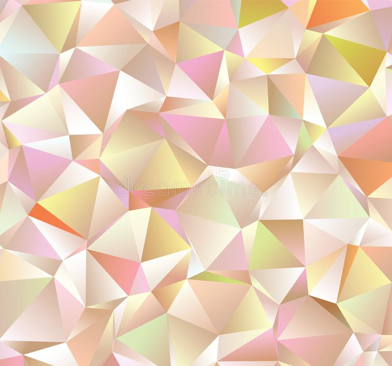 Kreative Illustration in der polygonalen Halbtonart mit Steigung Dieses ist Datei des Formats EPS8 lizenzfreie abbildung