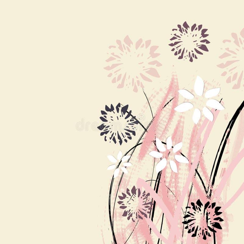 Download Kreative Universalblumenkarte Hand Gezeichnete Beschaffenheiten  Hochzeit, Jahrestag, Geburtstag, Valentin ` S