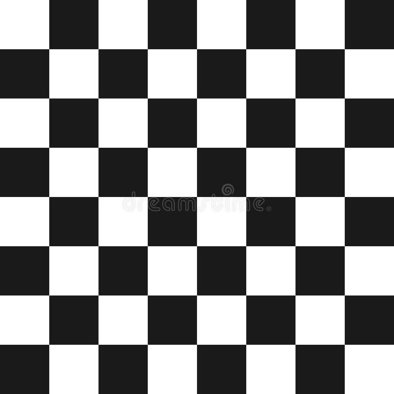 Kreative Vektorillustration des Schachbrettsatzes lokalisiert auf transparentem Hintergrund Kunstdesign kariert, Schachbrett stock abbildung